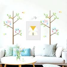 home decals for decoration owl wallpaper for walls popular stickers kids buy cheap cartoon