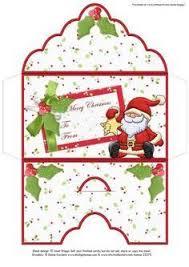 printable christmas gift vouchers free printable christmas money holders box or gift bag pinterest