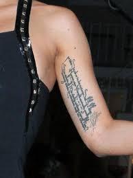 tattoos männer sprüche die tattoos der welches kunstwerk gehört wem bild 24 die
