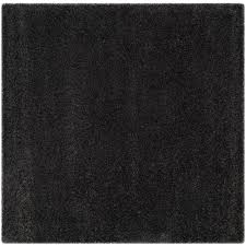 10 Square Area Rugs Safavieh Milan Shag Dark Gray 10 Ft X 10 Ft Square Area Rug