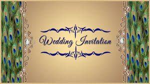 Card Factory Wedding Invitations How To Design A Wedding Invitation Card Front Page In Photoshop
