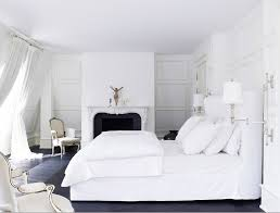 Bedroom Awesome With Cozy White Canopy Bed And Classic Furniture