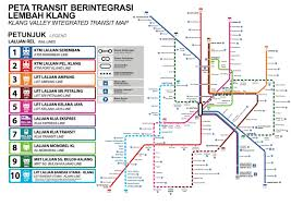 Metro Map Kuala Lumpur by Lrt3 Bandar Utama Klang Rail Project More Details About Planned