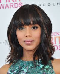 kerry washington hair pin up why the perfect versatile haircut is shoulder length