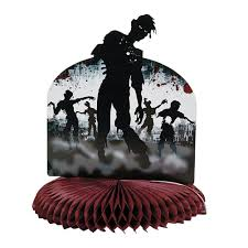 halloween birthday pics amazon com zombie party centerpiece tableware party supplies