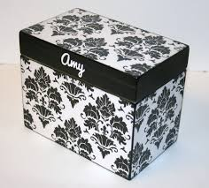 recipe box 4x6 4 x 6 custom you design it handmade personalized