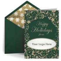 Business Printed Christmas Cards Custom Business Christmas Cards Personalized Christmas Ecards