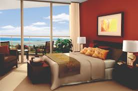 a guest room at the trump international hotel waikiki beach walk