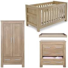 babystyle bordeaux by charnwood 3 piece nursery furniture set