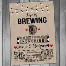 couples wedding shower ideas bridal shower invitation is brewing invitation coed bridal