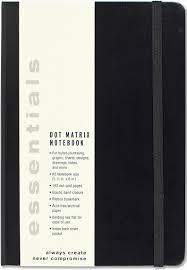 essentials dot matrix notebook a5 size bullet journal peter