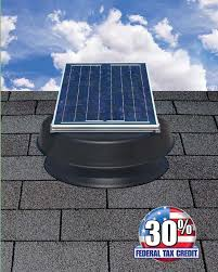 solar attic fans senez roofing llc