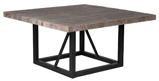 rustic square dining table classic home rustic messina square dining table
