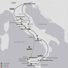 Orvieto Italy Map by Italy Vacations Comos