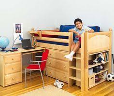 savannah storage loft bed with desk white and pink walmart com