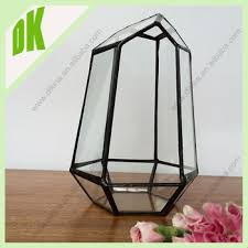 house glass hanging self standing vase planter fish tank home