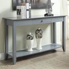 Grey Console Table Grey Wood Console Sofa Tables You Ll Wayfair