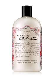 philosophy shimmering snowlace shower gel 16 oz nordstrom rack image of philosophy shimmering snowlace shower gel 16 oz