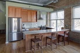 Loft Kitchen Ideas Loft Style Kitchen Contemporary Kitchen Chicago By Lugbill