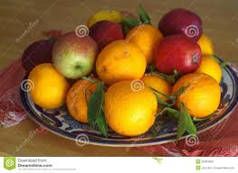 Fruit Bowls by Fruit Bowls Filled With Various Types Of Fruit Tangerine Mandarin