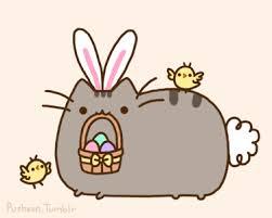Cute Easter Meme - easter bunny pusheen pusheen know your meme