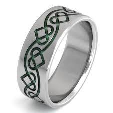 celtic ring titanium celtic ring ck28 titanium rings studio