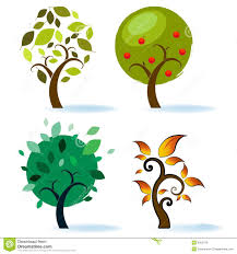 various tree designs stock illustration image of illustration