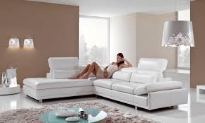 White Leather Corner Sofa Bed Living Room Attracting Leather Corner Sofa Sweeten Your Living