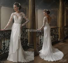 vintage wedding dresses with sleeves cheap white vintage dresses kzdress