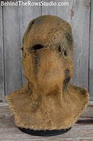 Scarecrow Batman Halloween Costume Burlap Scarecrow Mask