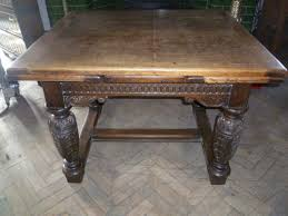 Draw Leaf Dining Table Antique Oak Draw Leaf Dining Table Antiques Atlas