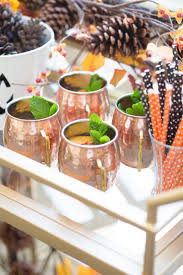 how to decorate your bar cart for halloween aol lifestyle