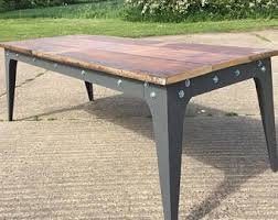 Handmade Kitchen Table by The 6 Foot Family Farm Table Handmade With Reclaimed Wood