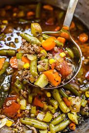 easy hamburger vegetable soup foodiecrush com