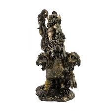 hades greek god of the underworld with cerberus 3 headed dog