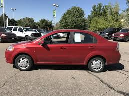 pre owned 2009 chevrolet aveo base 4dr car in riverdale x3163a