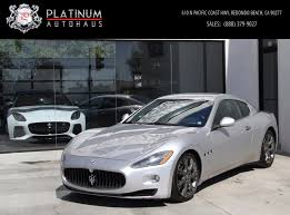 maserati luxury 2008 maserati granturismo stock 5895 for sale near redondo beach