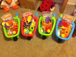 easter barrows for toddlers they have real baskets too for the