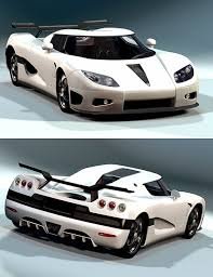 koenigsegg ghost car ghost racer 3d models and 3d software by daz 3d