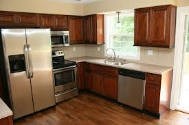 Mocha Mitre Kitchen Cabinets With Mitered Doors Low Price Very - Kitchen cabinets low price
