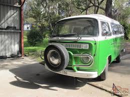 volkswagen kombi volkswagen kombi 1973 green campervan vinny ready for summer