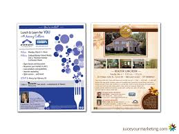 flyers mortgage and real estate juice marketing and design