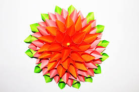 Beautiful Flowers How To Make A Beautiful Flower Out Of Paper Easy Step By Step
