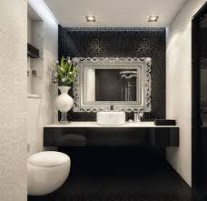Black And Blue Bathroom Ideas Black And White And Blue Bathroom Nickel Chrome Pull Swing