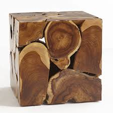 Coffee Tables And Side Tables Teak Cube Side Table Wisteria