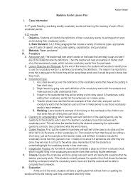 lesson plan template hunter 13 best images of madeline hunter lesson plan format madeline