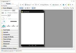layouts for android designing an android user interface using the graphical layout