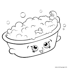 bathtub shopkins season 5 coloring pages printable