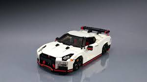 nissan gtr all models nissan gt r nismo fan creates his own lego masterpiece