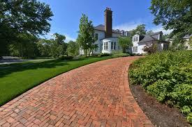 the basics of a brick paver driveway
